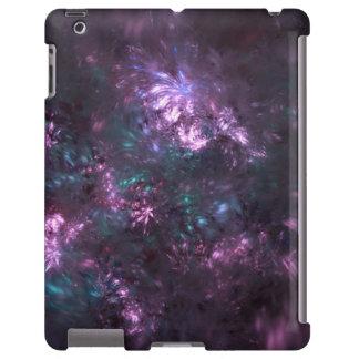 Caso do Fractal do buquê floral para o iPad Capa Para iPad