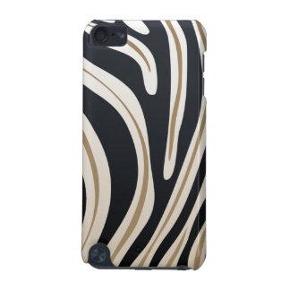 Caso do impressão da zebra capa para iPod touch 5G