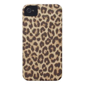 Caso do impressão iphone4 do leopardo mal lá capa para iPhone 4 Case-Mate