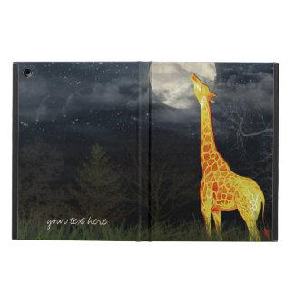 Caso do iPad 2/3/4/Mini/Air do girafa e da lua |