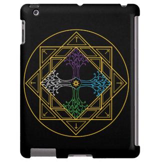 Caso do ipad da mandala - expansão capa para iPad