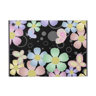 Caso do iPad das flores e das borboletas mini Capas iPad Mini
