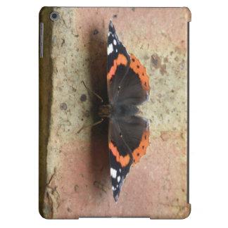 Caso do iPad do almirante vermelho borboleta Capa Para iPad Air