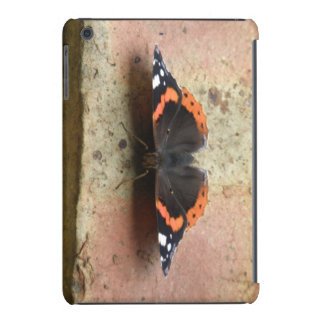 Caso do iPad do almirante vermelho borboleta mini Capa Para iPad Mini Retina