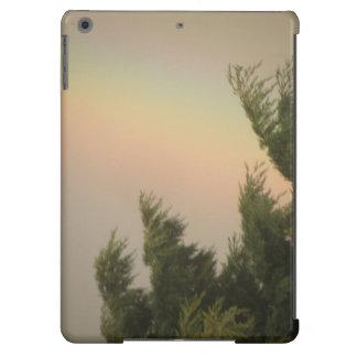 Caso do iPad do arco-íris e das árvores Capa Para iPad Air