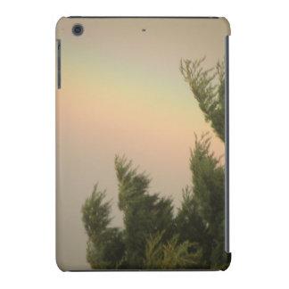 Caso do iPad do arco-íris e das árvores mini Capa Para iPad Mini Retina