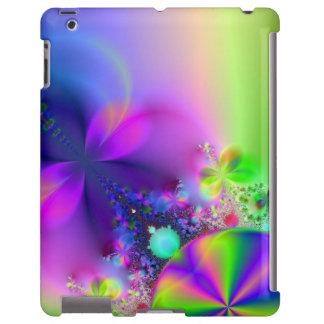 Caso do iPad do ~ das flores e das borboletas Capa Para iPad