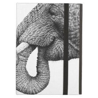 Caso do iPad do elefante africano Capa Para iPad Air