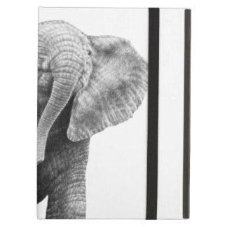 Caso do iPad do elefante africano do bebê Capa Para iPad Air