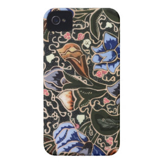 caso do iphone 4/4s com batik original pattern#26b capa para iPhone 4 Case-Mate