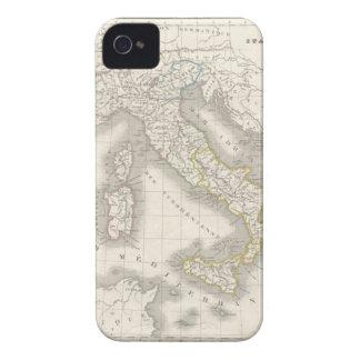 Caso do iPhone 4S do mapa de Italia do Velho Mundo Capinha iPhone 4