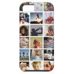 Caso do iPhone 5/5s da colagem da foto (case mate) Capa Tough Para iPhone 5