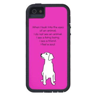 Caso do iPhone 5/5S do amante dos animais Capa Tough Xtreme Para iPhone 5