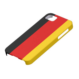 Caso do iPhone 5 da bandeira de Alemanha Capa Barely There Para iPhone 5
