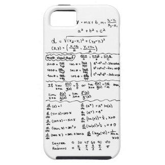 Caso do iPhone 5 da cábula das equações da Capa Para iPhone 5