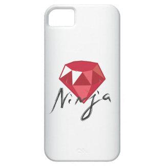 Caso do iPhone 5 do geek de pedra preciosa de Capa Barely There Para iPhone 5