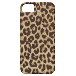 Caso do iPhone 5 do impressão do leopardo Capa Barely There Para iPhone 5