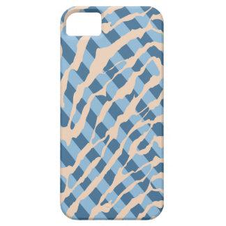 Caso do iPhone 5 do teste padrão da zebra da tira Capa Barely There Para iPhone 5