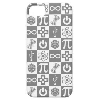 Caso do iPhone 5 dos símbolos do geek Capa Para iPhone 5