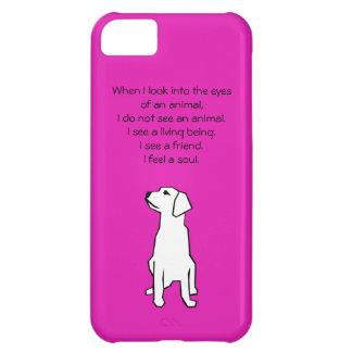 Caso do iPhone 5C do amante dos animais Capa Para iPhone 5C