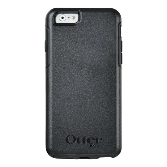 Custom OtterBox iPhone 6/6s Série Symmetry Case, Preto