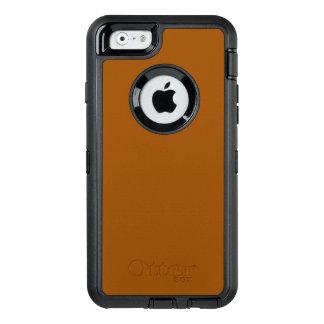 Caso do iPhone 6/6s do defensor de Brown Otterbox
