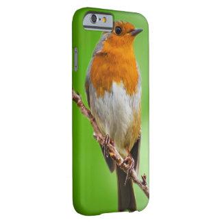 Caso do iPhone 6/6s do pássaro do pisco de peito Capa Barely There Para iPhone 6