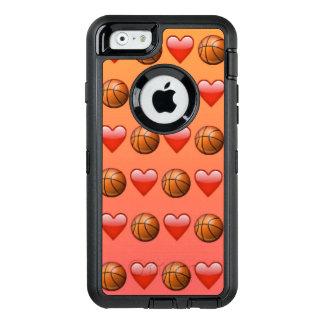 Caso do iPhone 6/6s Otterbox de Emoji do