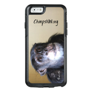 Caso do iPhone 6/6s Otterbox do chimpanzé do