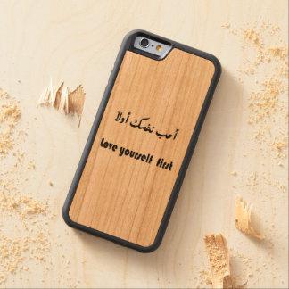 caso do iphone 6 capa cherry bumper para iPhone 6