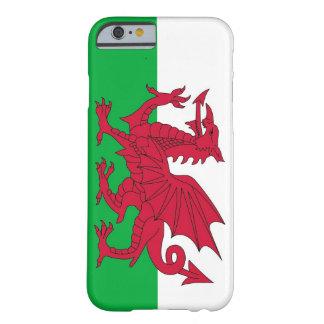 caso do iPhone 6 com a bandeira de Wales Capa Barely There Para iPhone 6