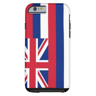 Caso do iPhone 6 da bandeira de Havaí Capa Tough Para iPhone 6