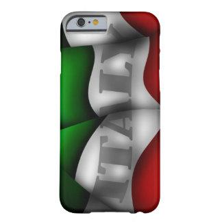 Caso do iPhone 6 da bandeira de Italia Capa Barely There Para iPhone 6