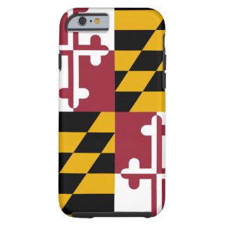 Caso do iPhone 6 da bandeira de Maryland Capa Tough Para iPhone 6