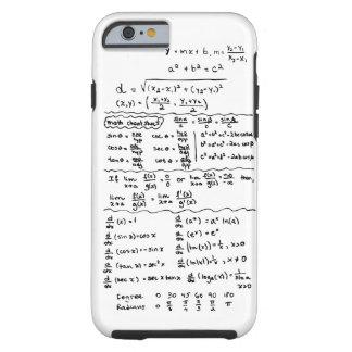 Caso do iPhone 6 da cábula das equações da Capa Tough Para iPhone 6