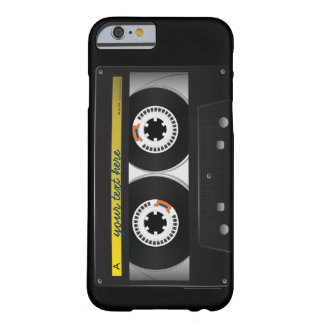 Caso do iPhone 6 da cassete de banda magnética Capa Barely There Para iPhone 6