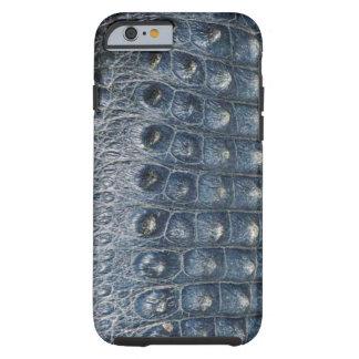caso do iPhone 6 da pele do jacaré do falso Capa Tough Para iPhone 6