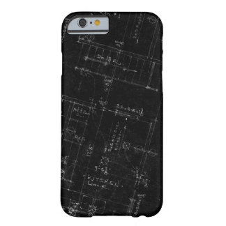 Caso do iPhone 6 da planta baixa do arquiteto Capa Barely There Para iPhone 6