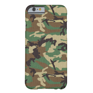 Caso do iPhone 6 de Camo do exército da floresta Capa Barely There Para iPhone 6