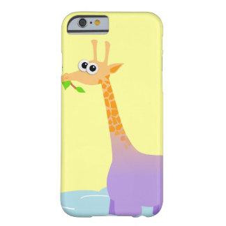Caso do iPhone 6 de Giraffopotamus Capa Barely There Para iPhone 6