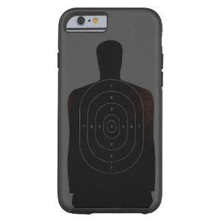 Caso do iPhone 6 do alvo da escala de tiro Capa Tough Para iPhone 6