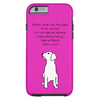 Caso do iPhone 6 do amante dos animais Capa Tough Para iPhone 6