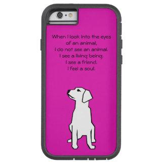 Caso do iPhone 6 do amante dos animais Capa Tough Xtreme Para iPhone 6