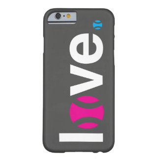 Caso do iPhone 6 do amor do tênis Capa Barely There Para iPhone 6