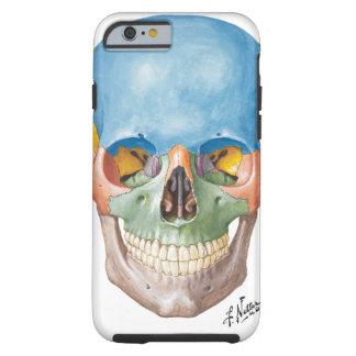 Caso do iPhone 6 do crânio do Netter Capa Tough Para iPhone 6