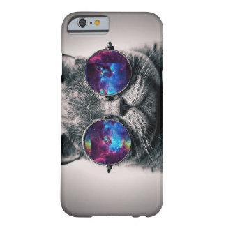 Caso do iPhone 6 do gato da galáxia Capa Barely There Para iPhone 6