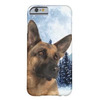Caso do iPhone 6 do german shepherd Capa Barely There Para iPhone 6