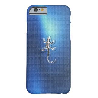Caso do iPhone 6 do lagarto do cromo Capa Barely There Para iPhone 6