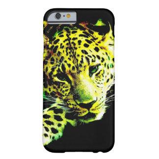 Caso do iPhone 6 do leopardo Capa Barely There Para iPhone 6