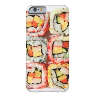 Caso do iPhone 6 do sushi Capa Barely There Para iPhone 6